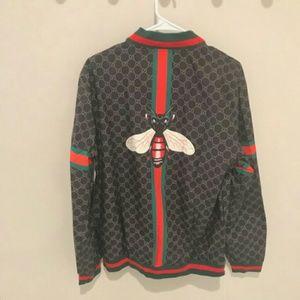 Gucci XL Bee Windbreaker Jacket NWT